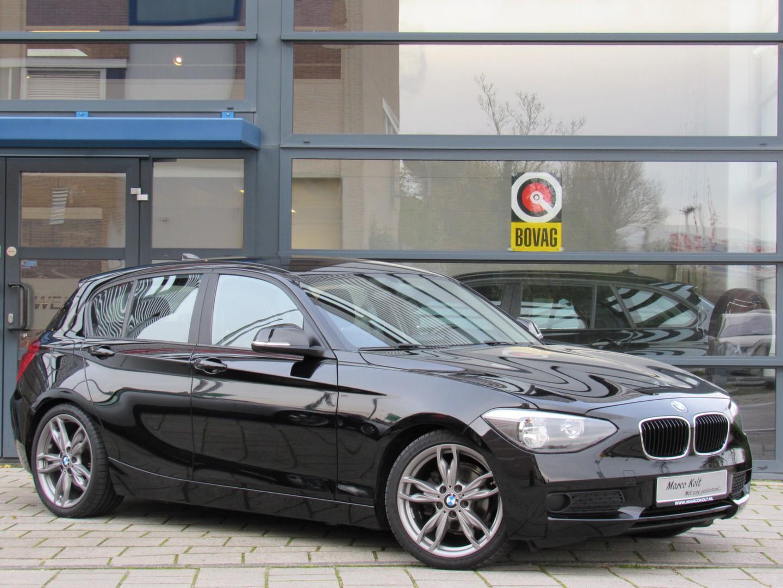 """Bmw 1 serie 114i turbo 5 deurs / airco / all-black edit / 18""""m-sport velgen / 2e eigenaar!"""