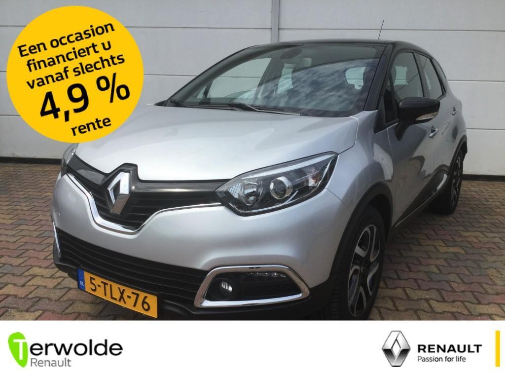 Renault Captur 90pk tce dynamaque trekhaak i full map navigatie i climate control parkeercamera