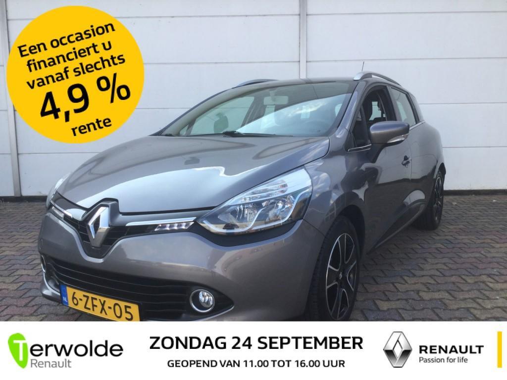 Renault Clio Estate 1.5 dci 90pk eco expression + intro full map navigatie i lm velgen i keyless entry en go i trekhaak