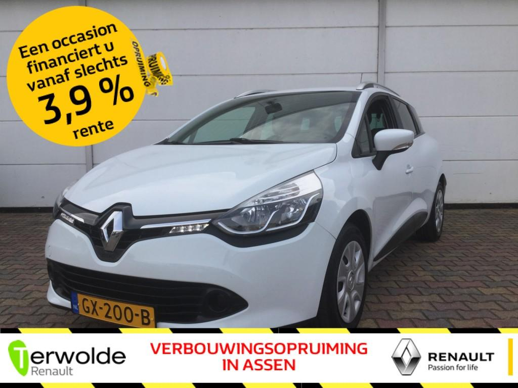 Renault Clio Estate 1.5 dci 90pk eco expression full map navigatie i airco i cruise control