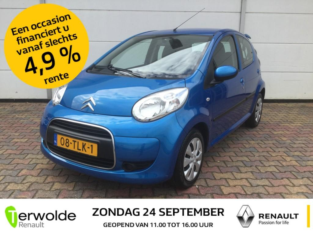 Citroën C1 1.0-12v 5drs selection airco i audio i centrale vergrendeling i electrische raambediening