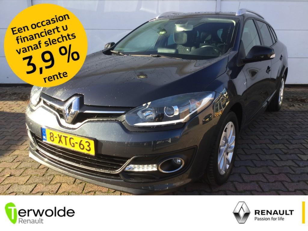 Renault Mégane estate 1.5 dci 110pk limited full map navigatie i climate control i parkeersensoren achter