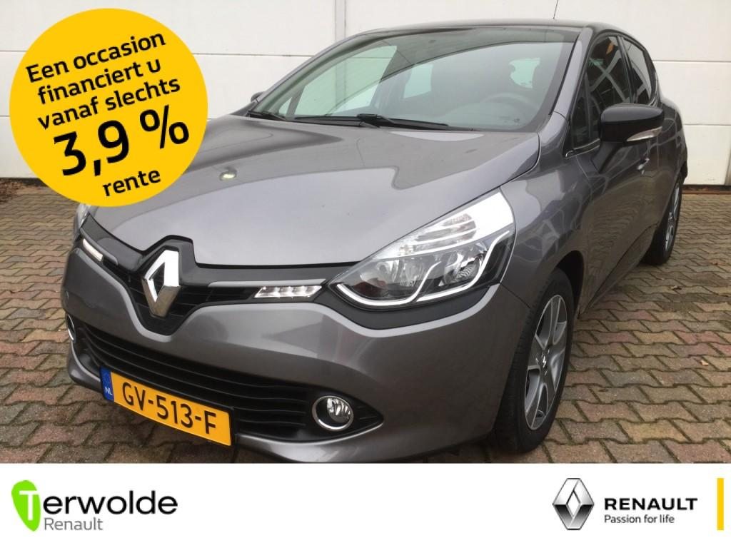 Renault Clio 1.5 dci 90pk eco night&day parkeersensoren achter i full map navigatie i airco
