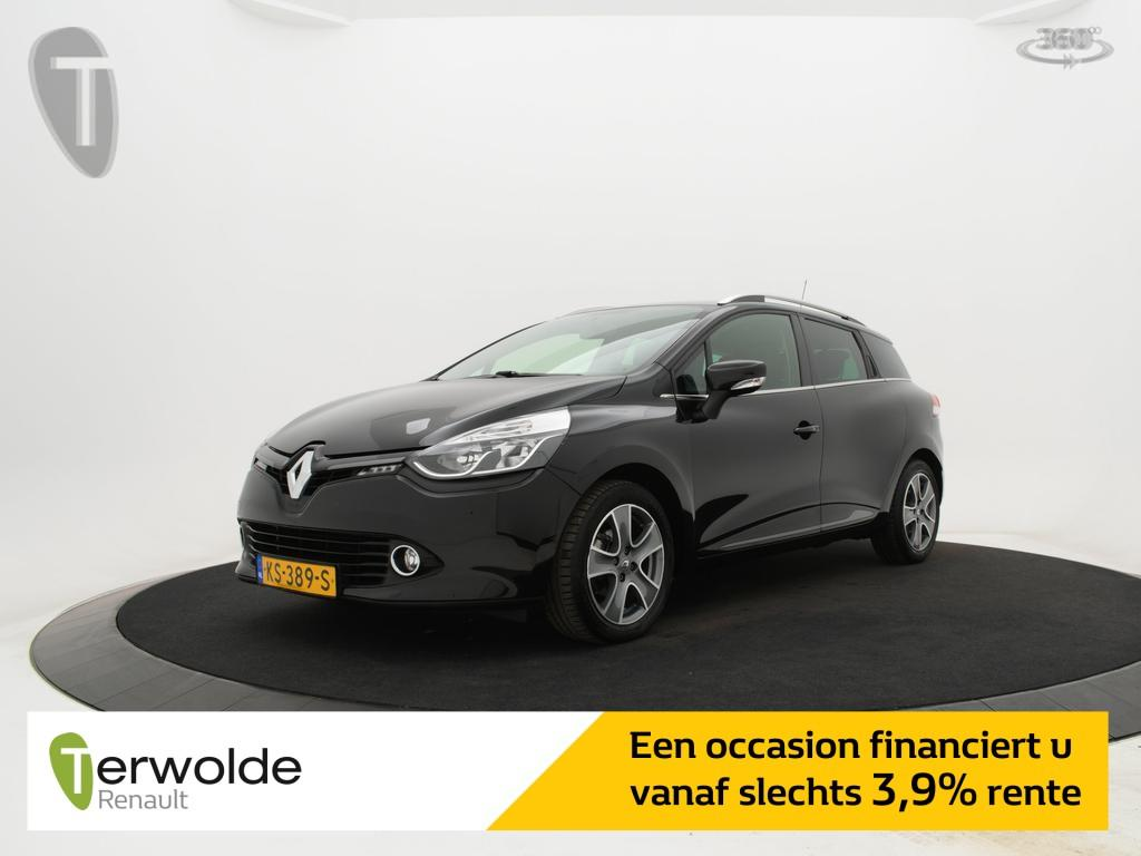 Renault Clio Estate 1.5 dci 90pk eco night&day airco i parkeersensoren achter i full map navigatie