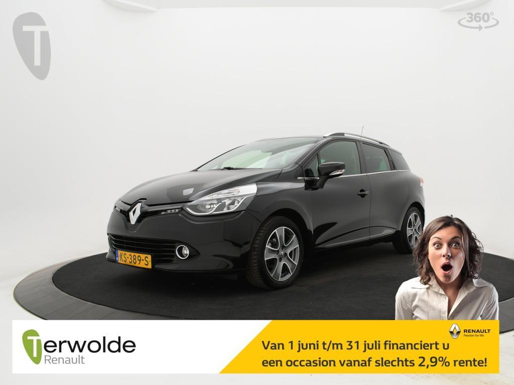 Renault Clio Estate 1.5 dci 90pk eco night&day airco i parkeersensoren achter i full map navigatie