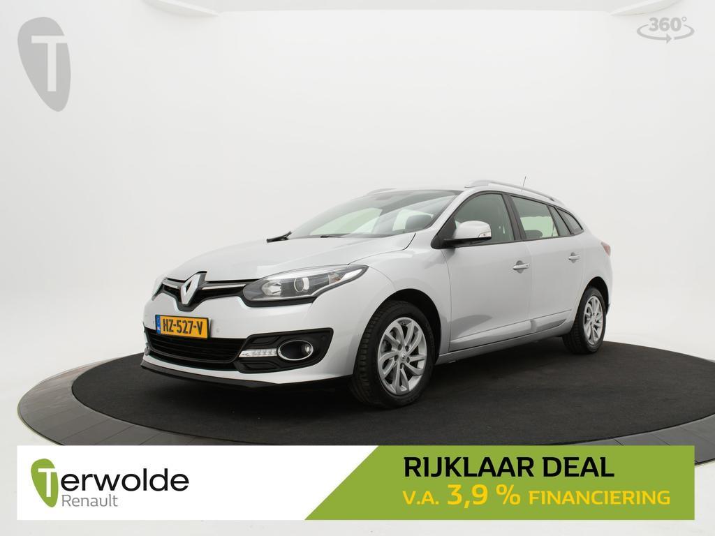Renault Mégane Estate 1.5 dci 110pk limited full map navigatie i parkeersensoren voor en achter i keyless * rijklaar *