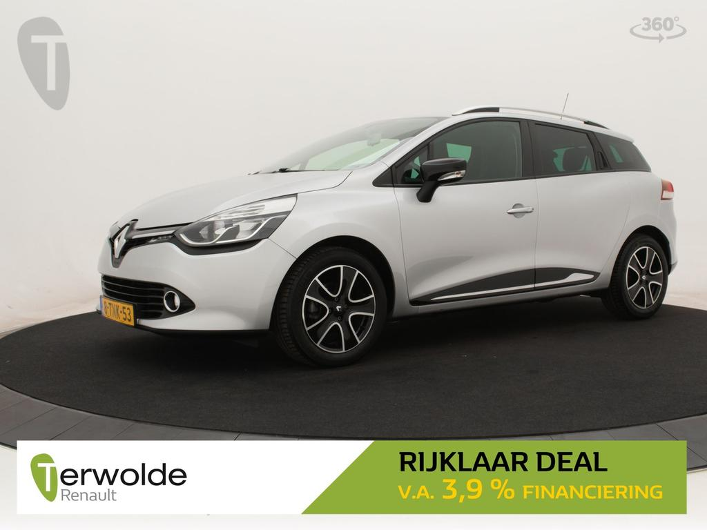 Renault Clio Estate 1.5 dci 90pk eco expression full map navigatie i airco i cruise control * rijklaar *