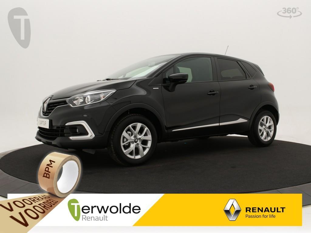 Renault Captur 90 tce limited € 2983,- korting ! financieren tegen 1,9% rente ! private lease mogelijk