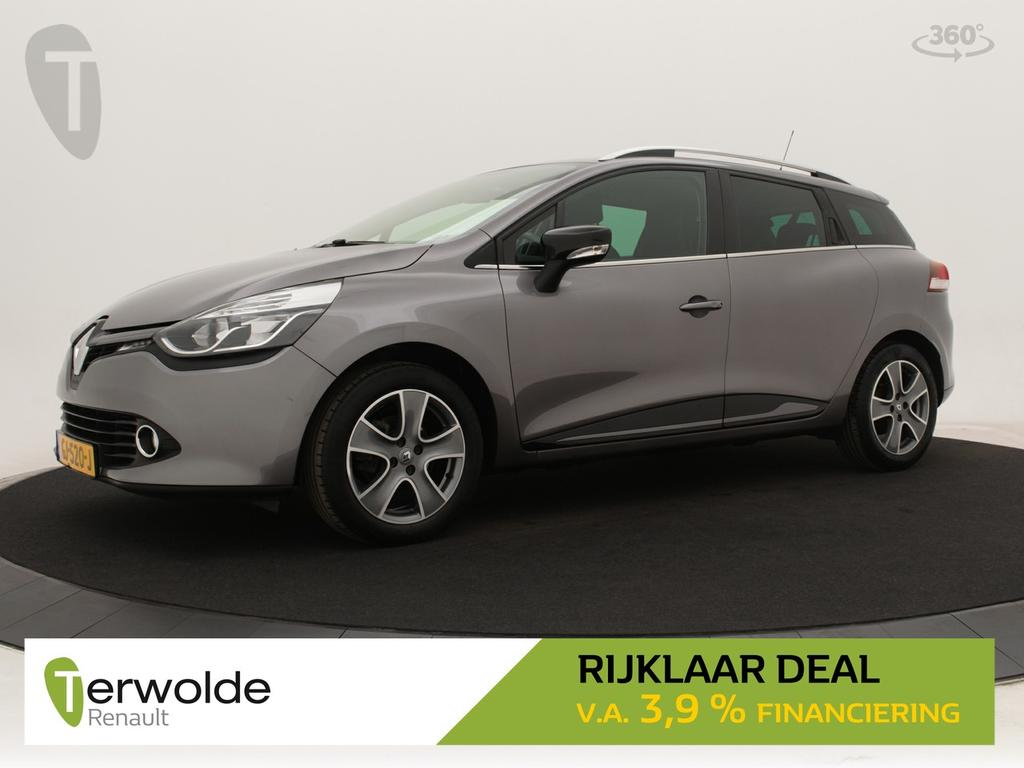 Renault Clio Estate 90pk tce night&day airco i cruise control i navigatiesysteem * rijklaar *