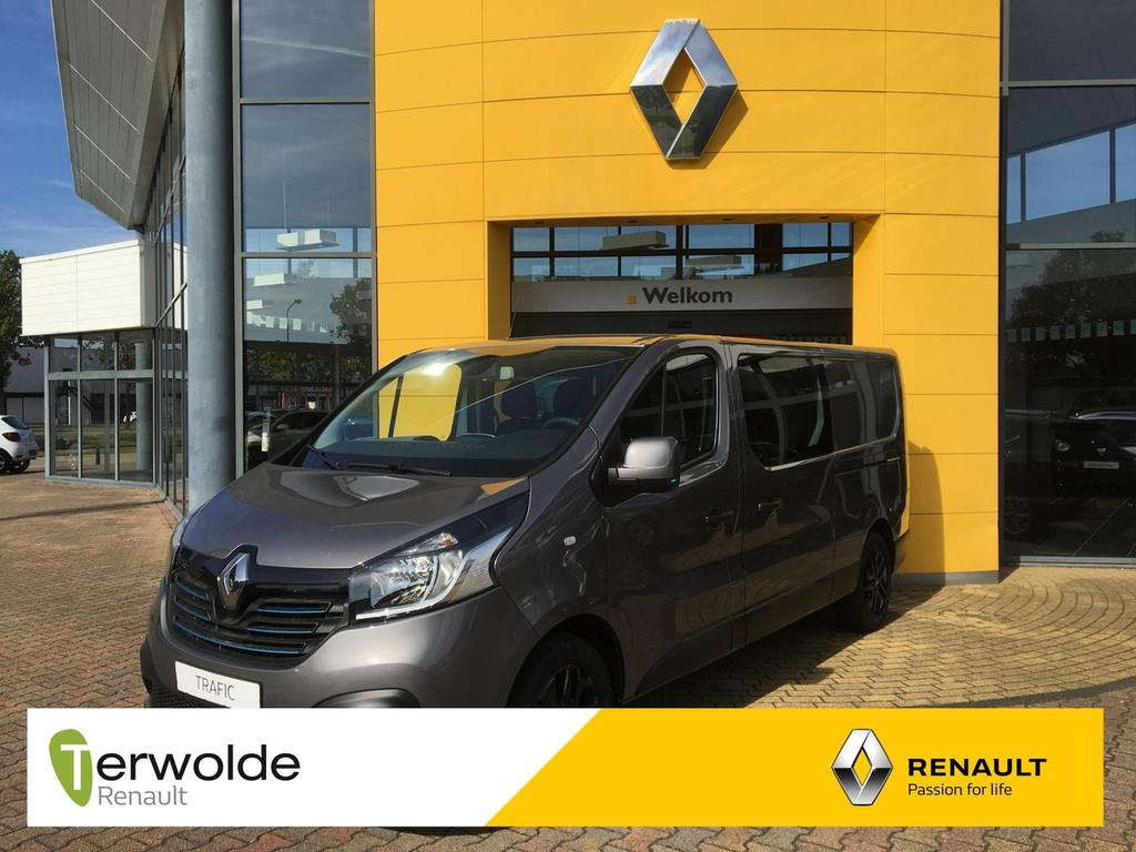 Renault Trafic 1.6 dci t29 l2h1 dc luxe 125 pk twin turbo 24% korting ! v.a. 0% financial lease !