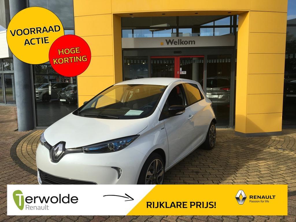 Renault Zoe R110 limited 40 nieuw en uit voorraad leverbaar! 1500,- korting financial lease vanaf 2,9% rente ! private lease mogelijk.