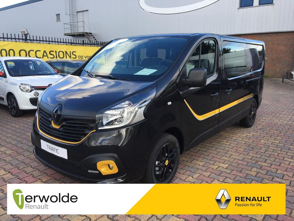 Renault Trafic 1.6 dci t29 dubbel cabine l2h1 formula edition yellow 24% korting ! v.a. 0% financial lease !