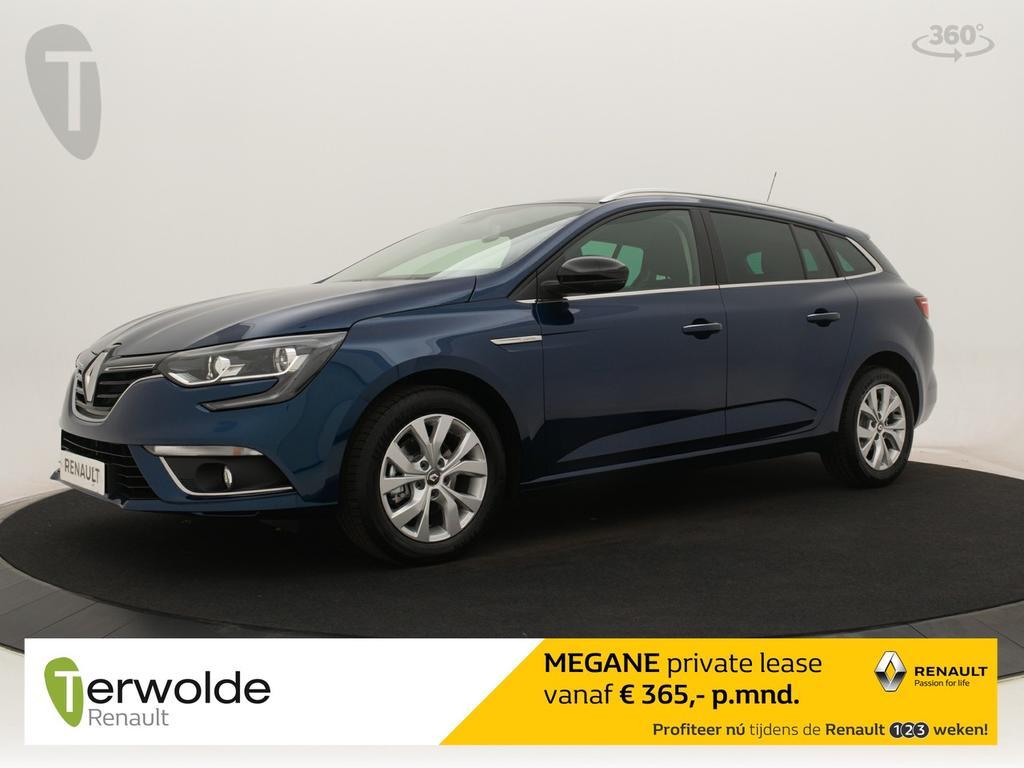 Renault Mégane Estate 115 tce limited nieuw en uit voorraad leverbaar! € 2856,- korting ! financieren vanaf 1,9% rente! private lease mogelijk!
