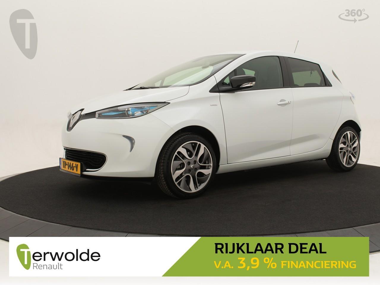 Renault Zoe R110 limited 40 full map navigatie i 17 inch velgen i climate control * rijklaar *