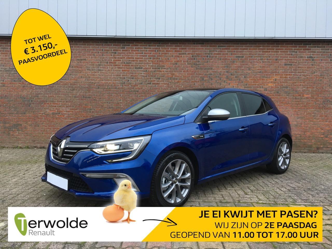 Renault Mégane 160tce gt-line nieuw en uit voorraad leverbaar ! € 3.459,- korting ! financieren tegen 2,9% rente !