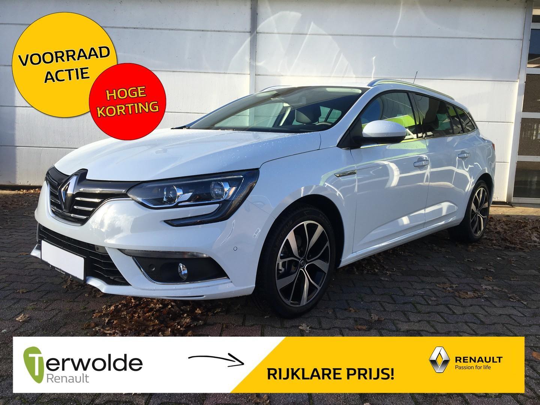 Renault Mégane Estate 140tce bose nieuw en uit voorraad leverbaar! € 3.459,- korting ! financieren vanaf 2,9% rente!