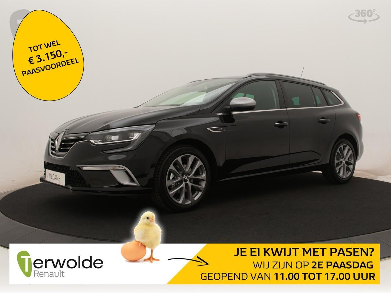 Renault Mégane Estate 140tce gt-line nieuw en uit voorraad leverbaar ! financieren tegen 2,9 rente ! € 3.459,- korting !
