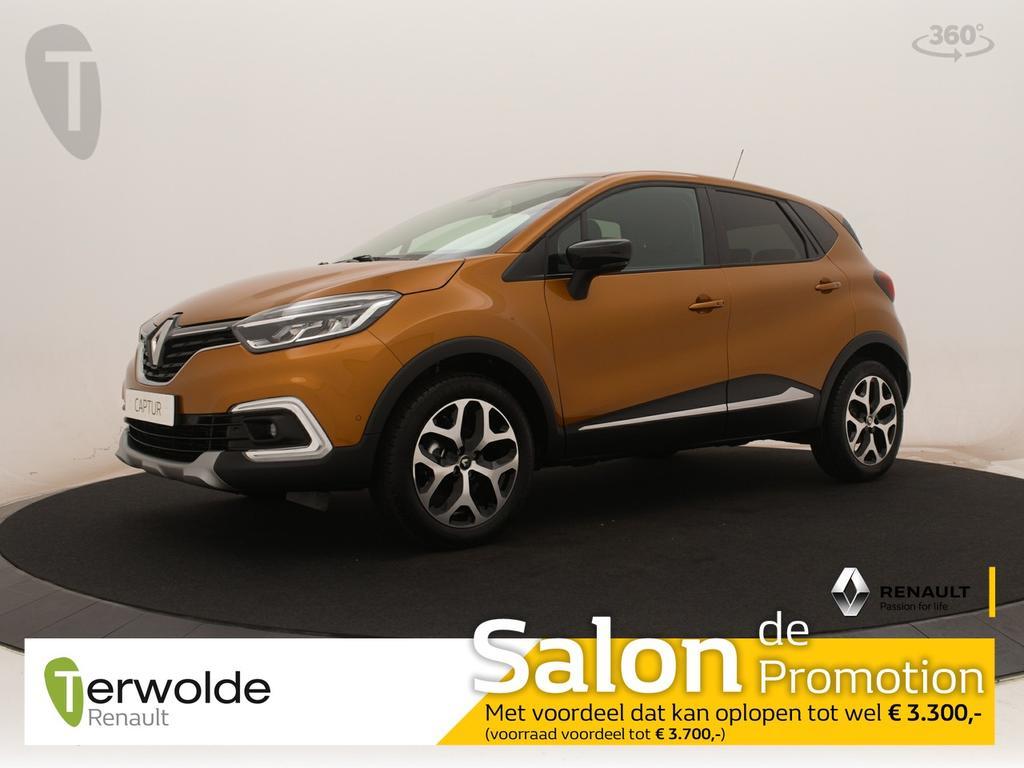 Renault Captur 90tce intens nieuw en uit voorraad leverbaar! financieren tegen 2,9% rente ! € 3700,- korting !