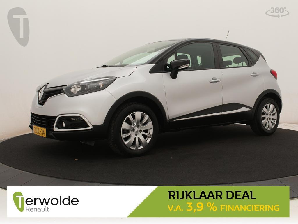 Renault Captur 90pk tce expression full map navigatie i airco i cruise control * rijklaar *