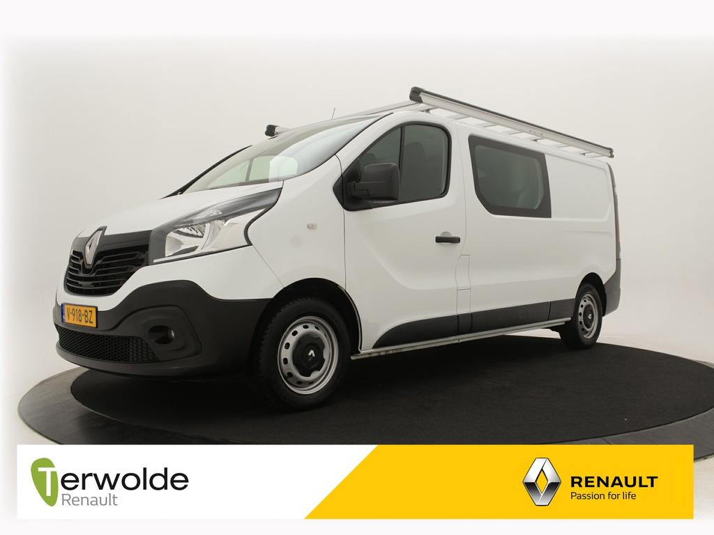 Renault Trafic 1.6 dci t29 l2h1 dc comfort climate control i r-link navigatie i cruise control i imperial dubbele cabine
