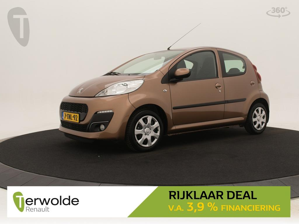 Peugeot 107 1.0 active 5drs airco i audio i electrische raambediening * rijklaar *
