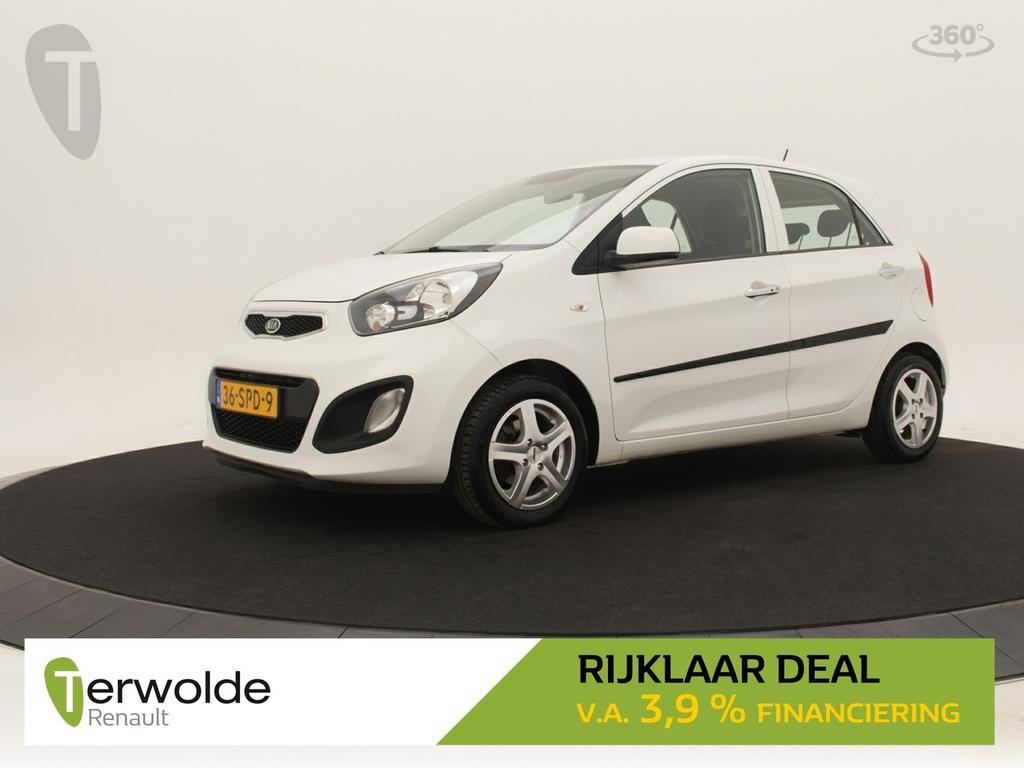 Kia Picanto 1.2 cvvt 86pkcomfort pack 5drs keyless entry i climate control i lichtmetalen velgen * rijklaar *