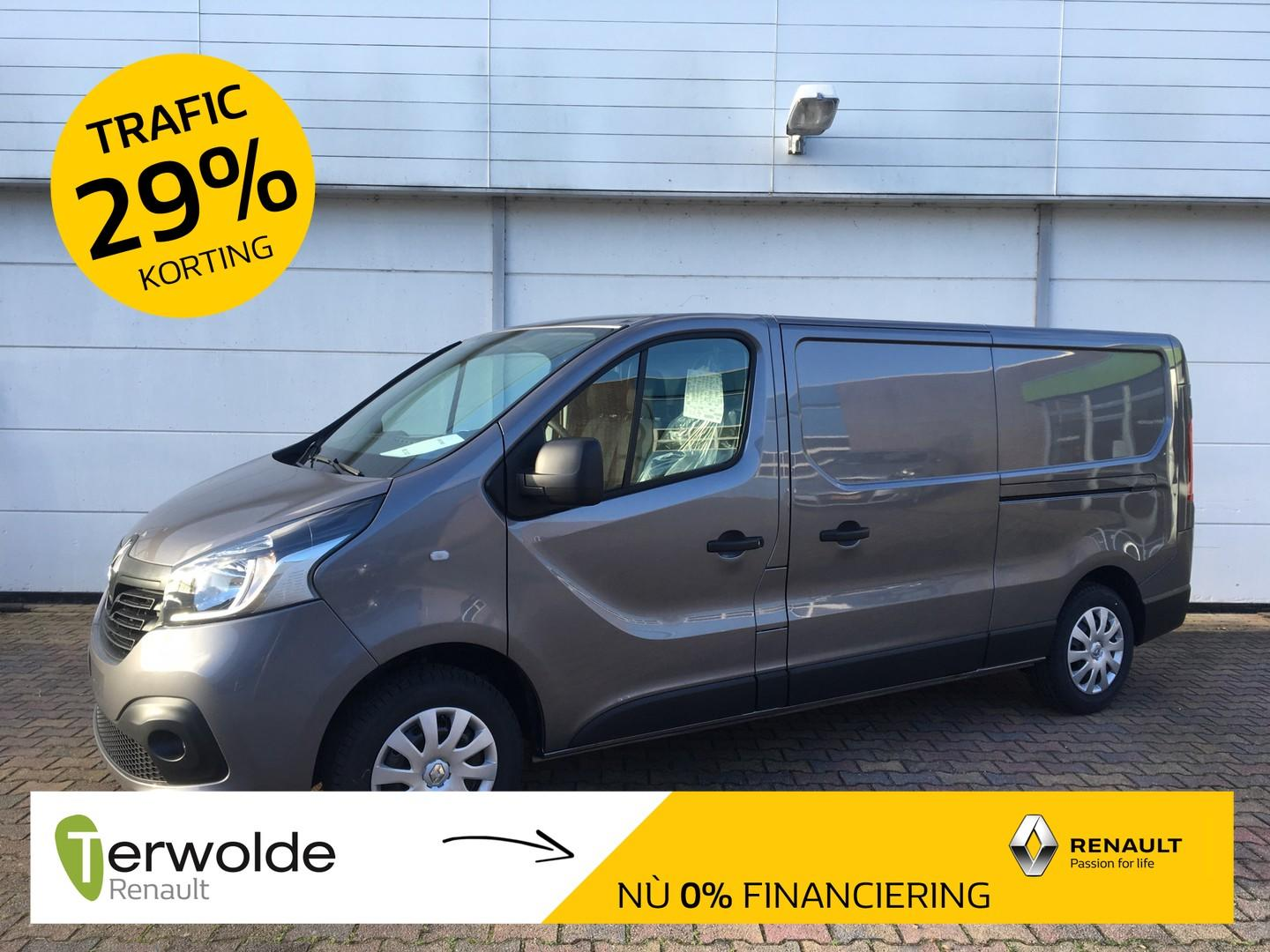 Renault Trafic 1.6 dci t29 l2h1 work edition energy 29% korting! financial lease 0% !