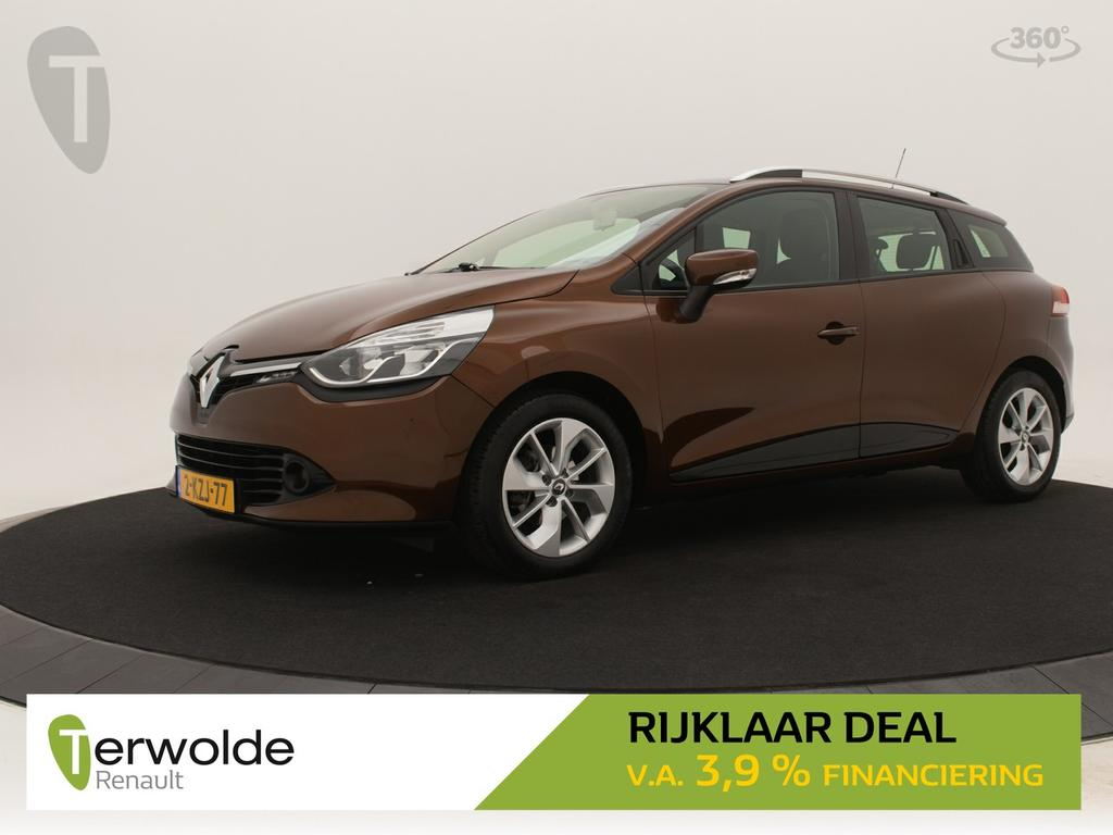 Renault Clio Estate 90pk tce expression full map navigatie i airco i cruise control * rijklaar *