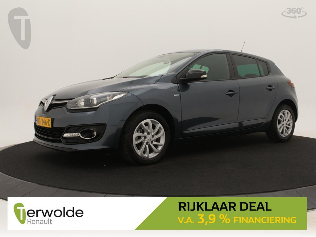 Renault Mégane 1.2 tce 115pk 5drs limited full map navigatie i climate control i cruise control * rijklaar *