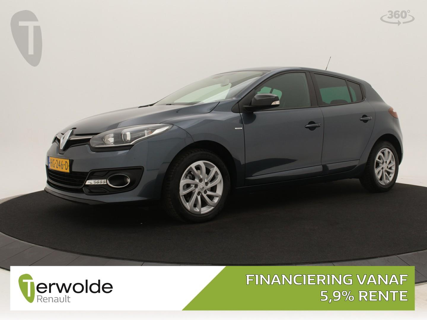Renault Mégane 1.2 tce 115pk 5drs limited full map navigatie i climate control i cruise control