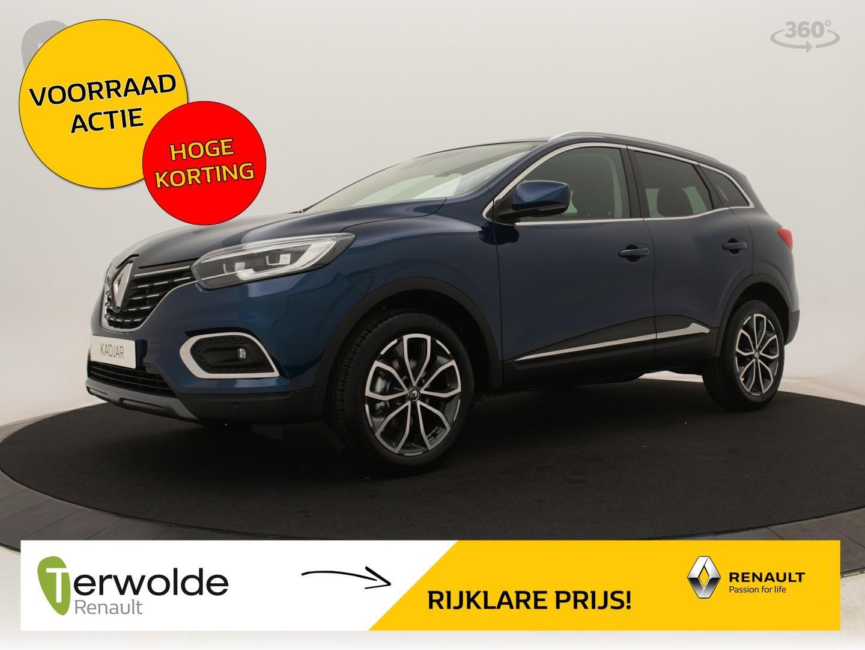 Renault Kadjar 140tce intens nieuw en uit voorraad leverbaar! € 3.642,- korting! financieren tegen 2,9% rente!
