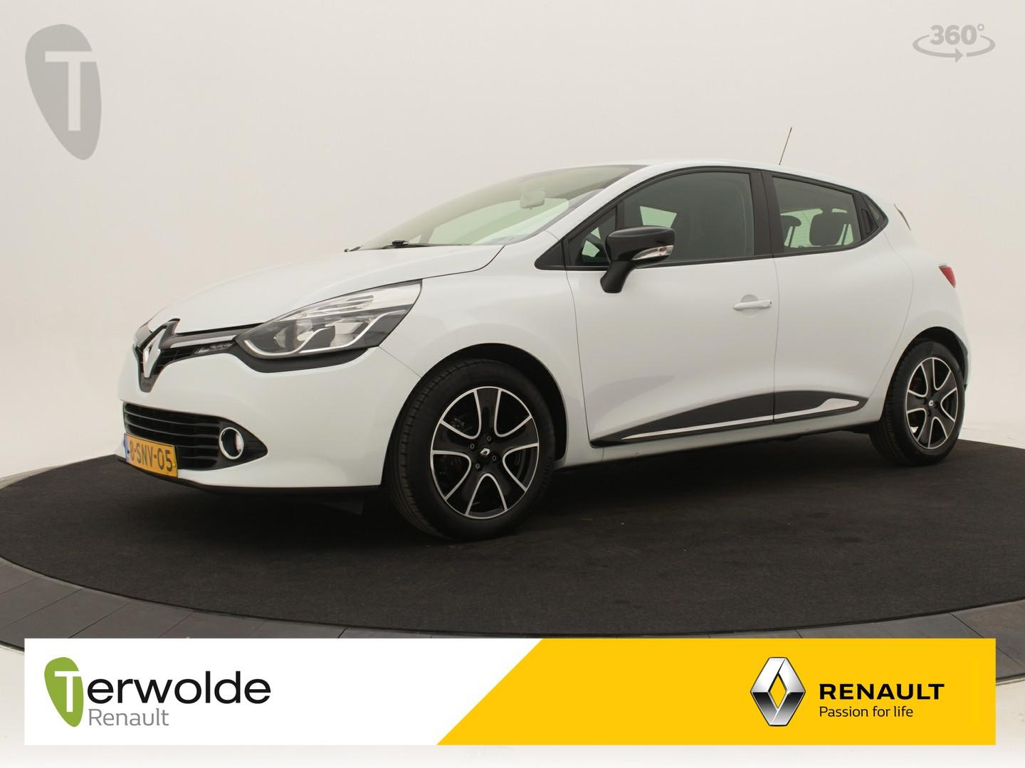 Renault Clio 90pk tce expression airco i full map navigatie i cruise control * rijklaar *