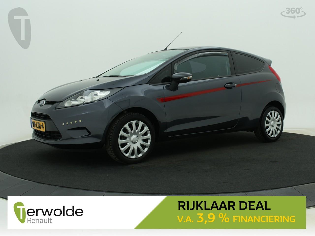 Ford Fiesta 1.25 limited 3drs. airco i centrale vergrendeling i audio * rijklaar *