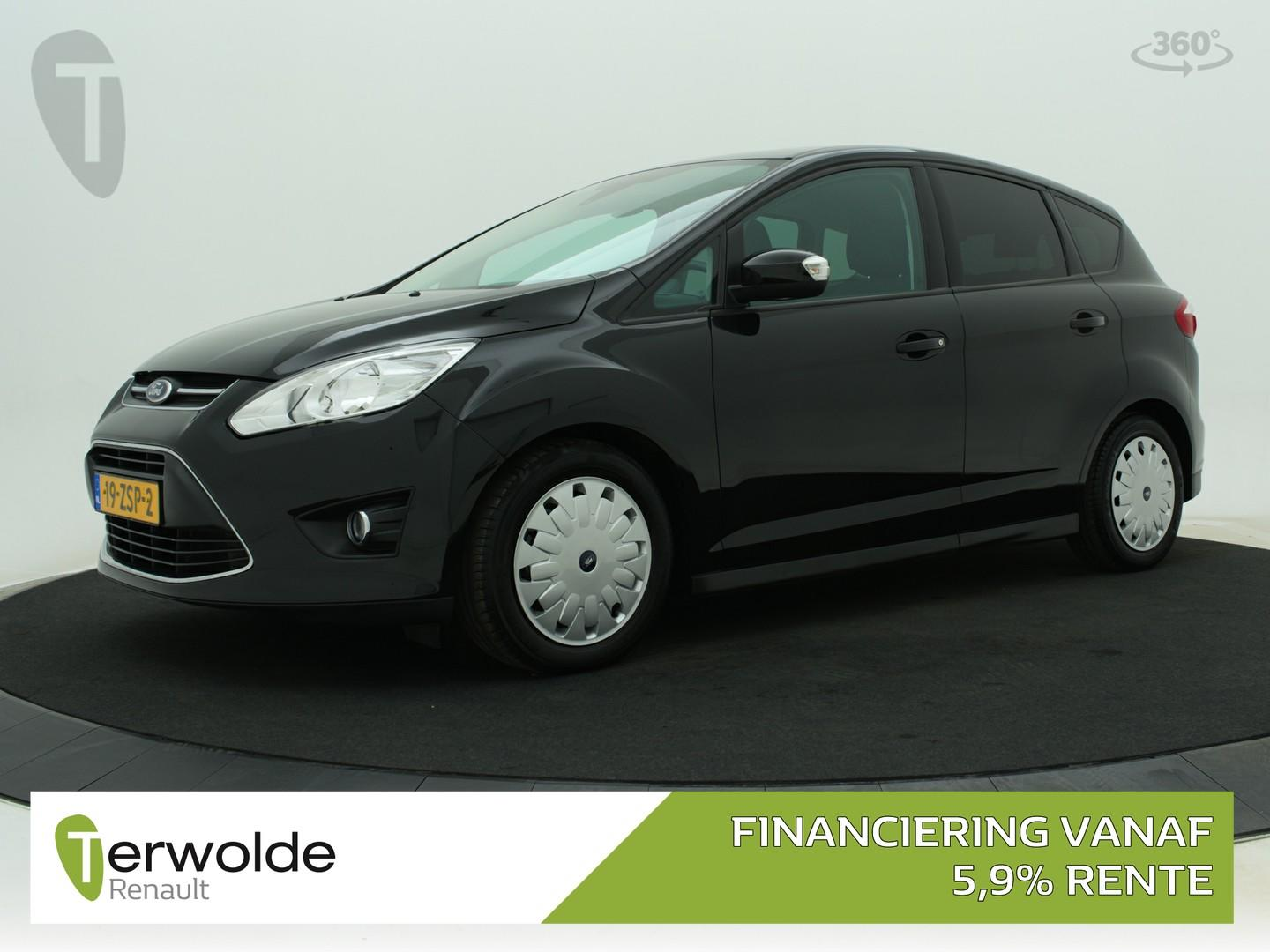 Ford C-max 1.0 trend 126pk trekhaak i airco i cuise control i navigatie