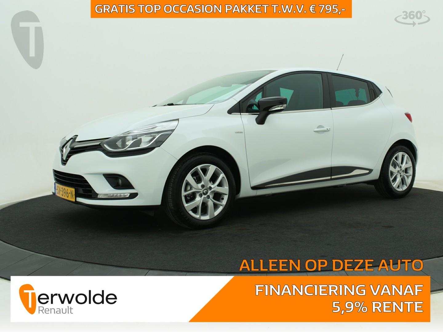 Renault Clio 90 pk tce limited full map navigatie i cruise control i airco