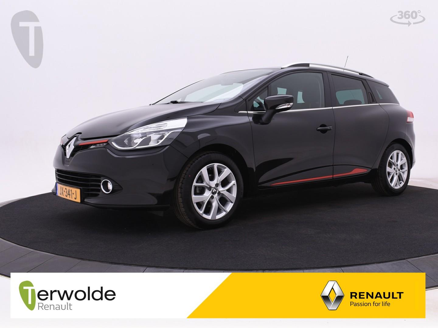 Renault Clio Estate 90pk tce night&day airco i full map navigatie i cruise control * rijklaar *