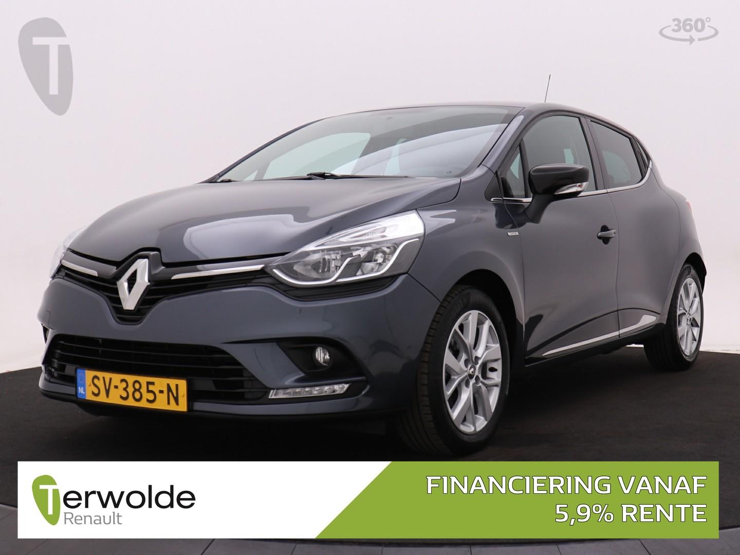 Renault Clio 90pk tce limited airco i cruise control i parkeersensoren