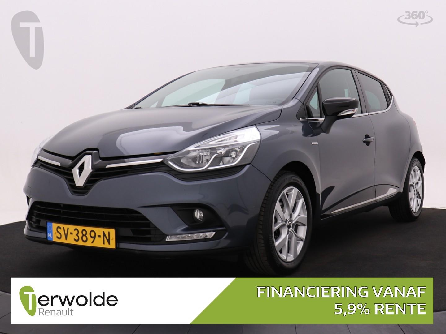 Renault Clio 90pk tce limited airco i cruise control i navigatiesysteem