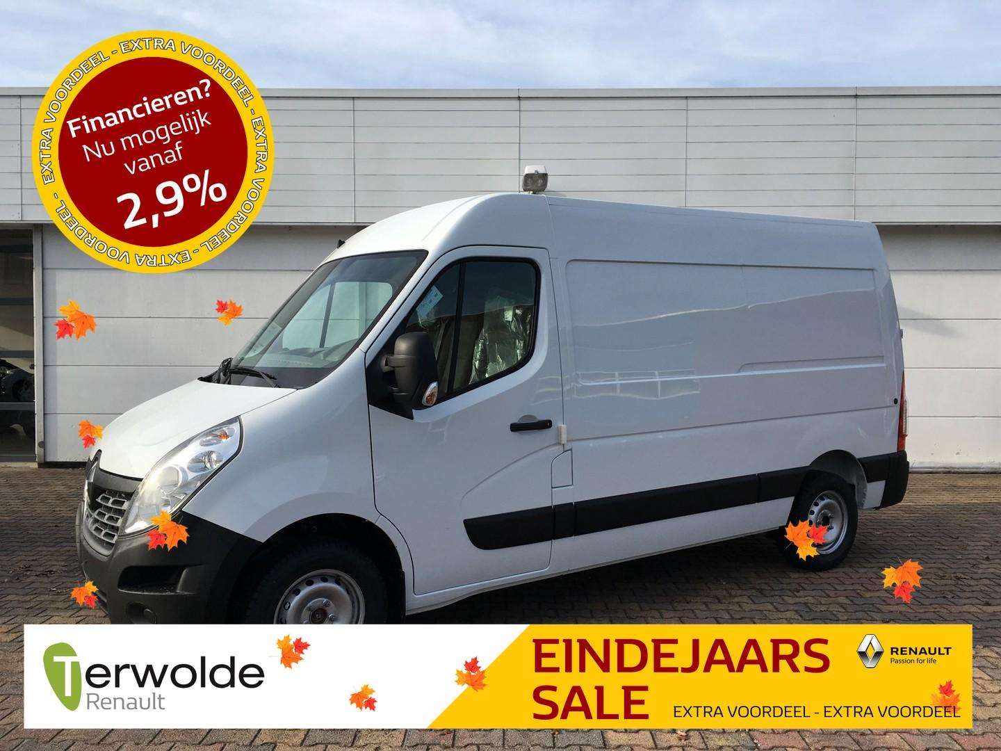 Renault Master T35 2.3 dci 130 pk l2h2 airco i full map navigatie i cruise control