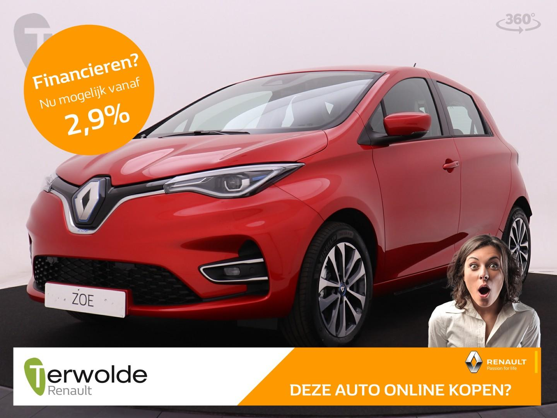 Renault Zoe R135 zen 50 accuhuur!! 4% bijtelling ! navigatie i cruise control i keyless