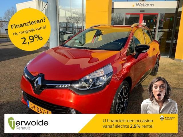Renault Clio Estate 1.5 dci eco expression airco i cruise control i navigatie i trekhaak