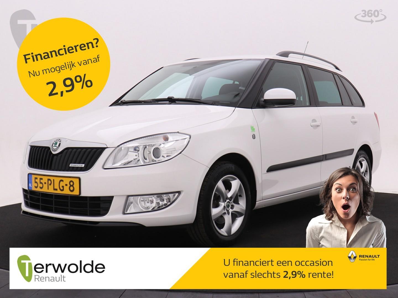 Škoda Fabia Combi 1.2 tdi greenline trekhaak i lichtmetalen velgen i airco