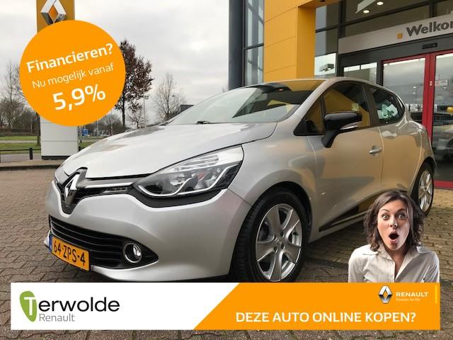 Renault Clio 1.5 dci eco expression tekhaak i dealeronderhouden i airco i navigatiesysteem