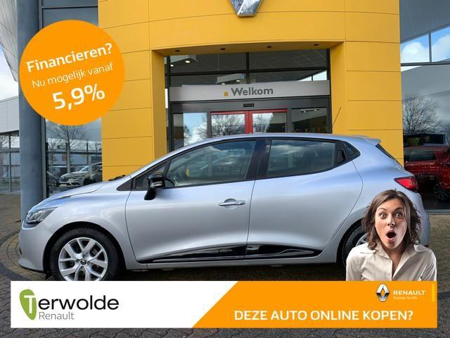 Renault Clio 1.5 dci eco expression dealeronderhouden i trekhaak i airco i navigatiesysteem