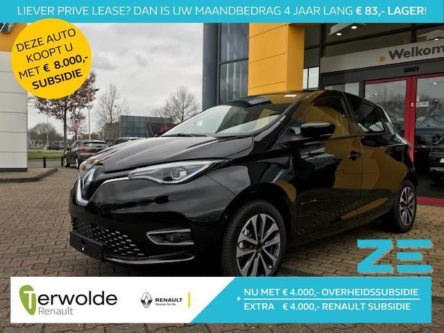 Renault Zoe R135 intens 50kwh 395km wltp € 4.000,- renault subsidie !  navigatie
