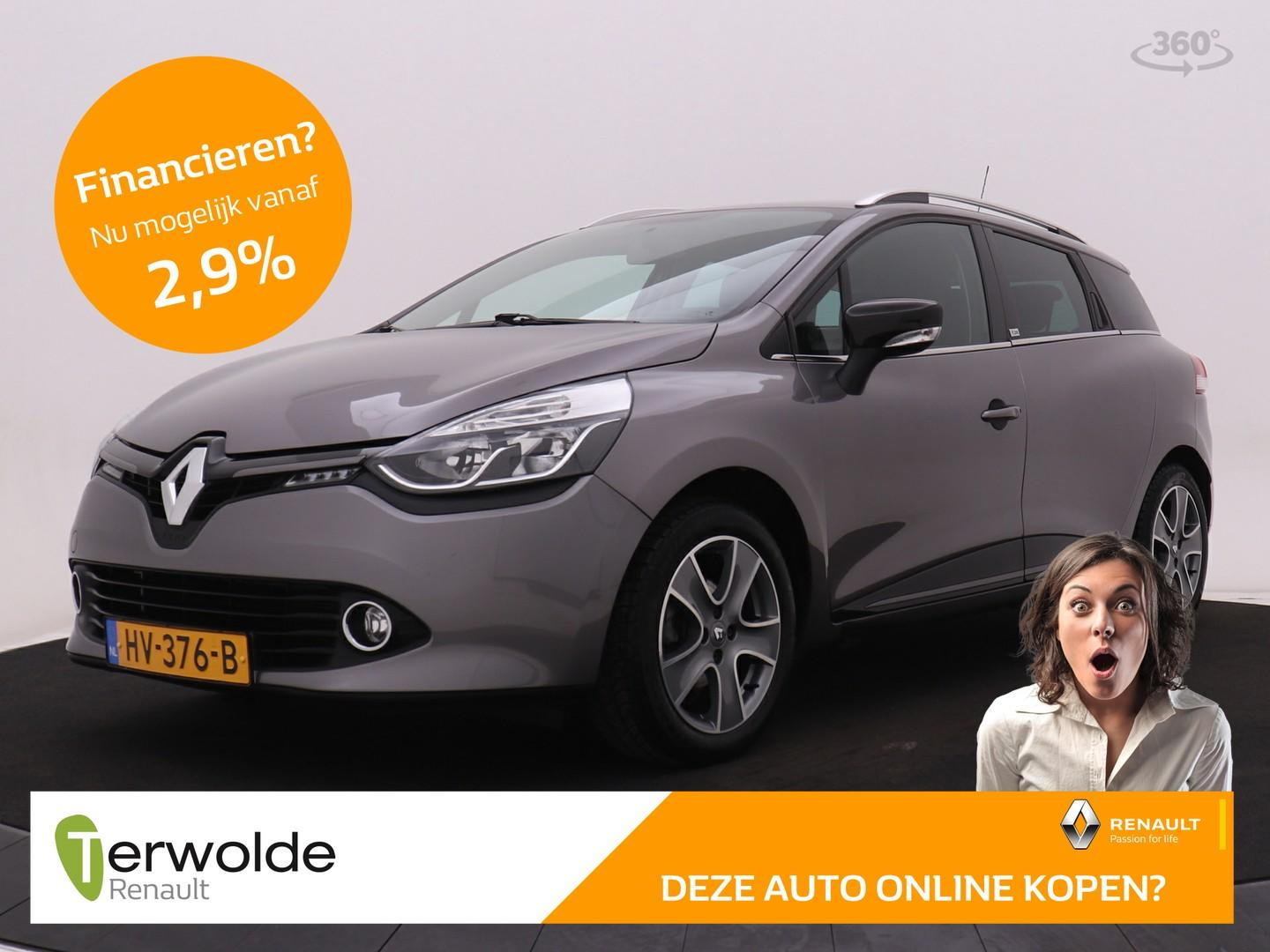 Renault Clio Estate 90pk tce night&day r-link navigatie i airco i cruise control