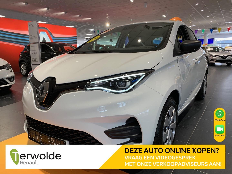 Renault Zoe R110 life 50 accuhuur € 4.000,- renault subsidie! uit voorraad leverbaar !