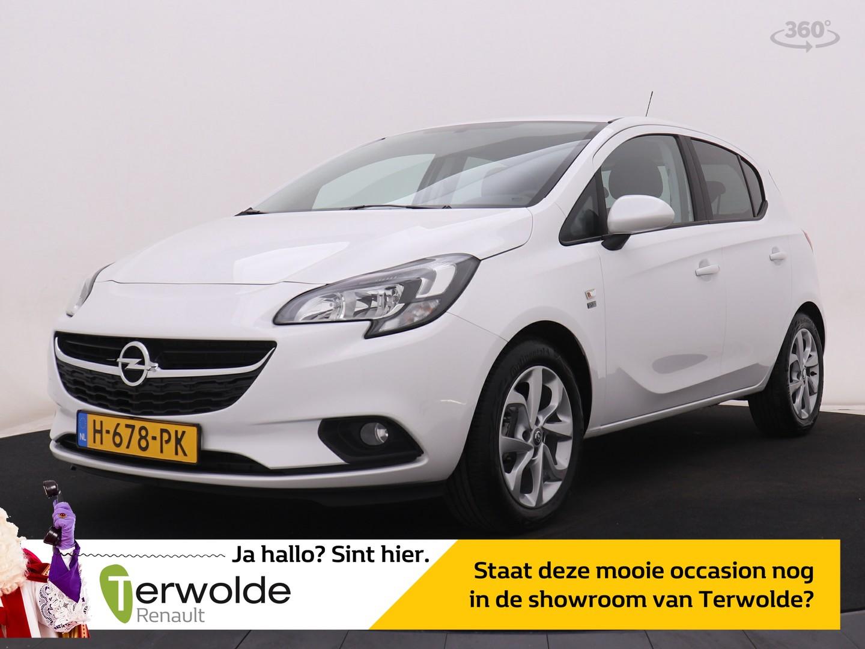 Opel Corsa 1.2 16v 120 edition airco i cruise control i lm velgen