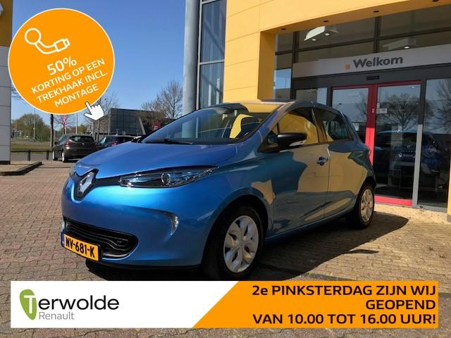 Renault Zoe Q90 life quickcharge 41 kwh accuhuur navigatie i climate control i cruise control