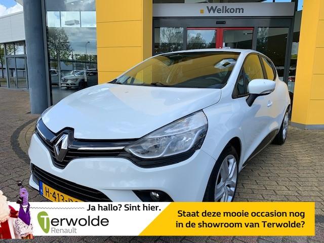 Renault Clio 90pk tce zen vaste prijs i parkeersensoren i navigatie i airco